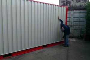 container opmeten