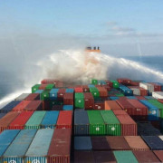 Fire hanjin green earth