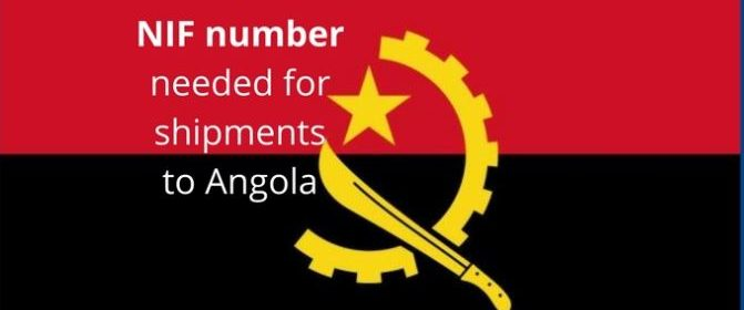 NIF number needed for Angola