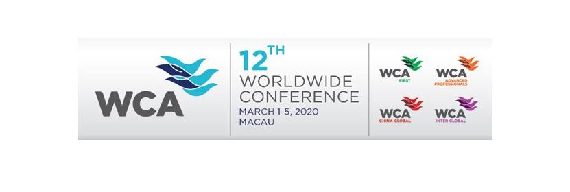 WCA Macau 2020 website