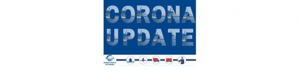 Corona update EFR website